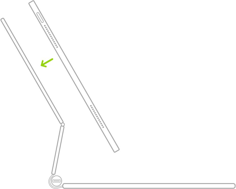 collegare magic keyboard ad ipad pro