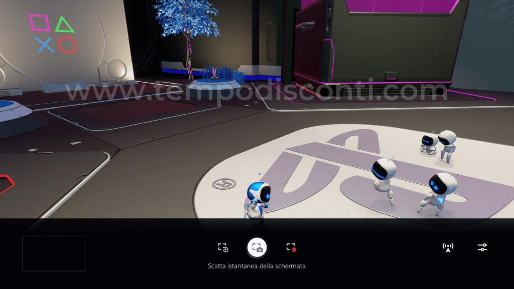 Come fare screenshot su PS5 1