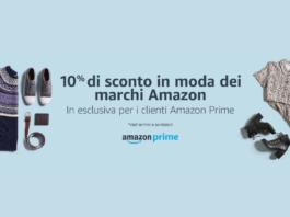 Codice sconto Amazon Moda 10